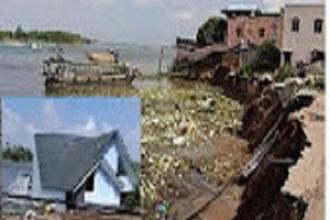Sạt lở đất kinh hoàng tại Chợ Mới - An Giang